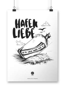 Poster Hafenliebe
